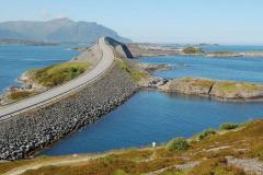 Atlanterhavsveien – Droga Atlantycka: zbudowany w latach 80. ubiegłego wieku cud inżynierii lądowej. Foto: Anna Potapowicz