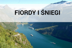 Norwegia 2009 - Fiordy i sniegi
