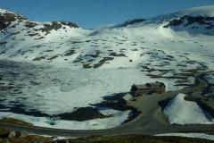 20 minut dalej i 800 metrów wyżej wjeżdżamy w prawdziwą zimę. Foto: Piotr Maculewicz
