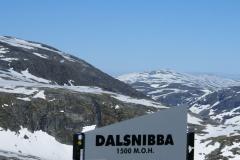…aż na szczyt Dalsnibba, 1500 m np.m.! Foto: Andrzej Borzym