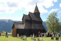 …zbudowany w 1130 r., jest najstarszym z zachowanych w Norwegii, od lat na liście UNESCO Foto: Anna Potapowicz