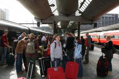 Do Norwegii samolotem leci się krótko, potem przesiadka w pociąg, z pociągu do tramwaju… Foto: Maria Boratyńska