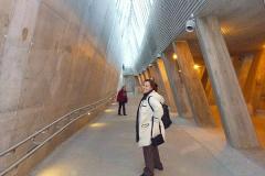 Nasza stacja metra, o bardzo skandynawskim designie. Foto: Piotr Maculewicz