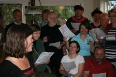 …potem zaś śpiewaliśmy a vista – po norwesku! Foto: Maria Boratyńska