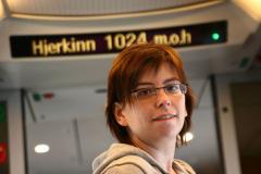 Dość wysoko dojechaliśmy! (m.o.h. = metry n.p.m.) Foto: Maria Boratyńska