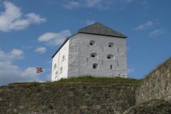 Nad całym miastem i portem góruje od XVII wieku forteca Kristiansten. Foto: Piotr Maculewicz