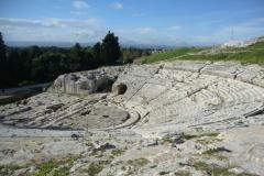 …oglądamy sławny grecki teatr z III w p.n.e.,… Fot. Klaudia Kalita