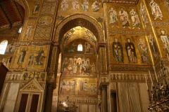 Ściany pokryte są bizantyjskimi mozaikami sprzed ponad 800 lat – scenami z Księgi Rodzaju, Ewangelii i Dziejów Apostolskich. Fot. Piotr Boratyński