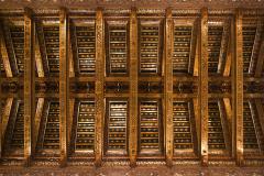 Sklepienie – jeszcze drewniane, jeszcze nie gotyckie, ale także piękne. Fot. Artur Mikołajewski