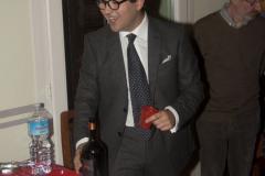 Było też pyszne Nero d'Avola - Giovanni odwiedził nas w sierpniu na Suwalszczyźnie, więc znał nasze upodobania. Fot. Artur Mikołajewski