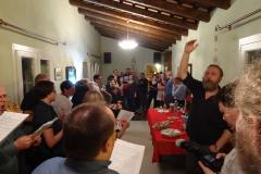Oklaski – to chyba za włoską kolędę Tu scendi dalle stelle. Fot. Anna Potapowicz