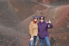 Wino na kraterze. Fot. Piotr Boratyński