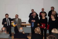 Koncert rozpoczęły kurtuazyjne wystąpienia organizatorów z katańskiego Lions Clubu;… Fot. Artur Mikołajewski
