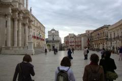 Główny plac miasta… Fot. Klaudia Kalita