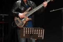 ...i Robert Kubiszyn – sekcja rytmiczna jazzowego tria. Fot. Ancja Łabuszewska
