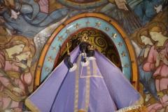 ...do bazyliki Notre-Dame la Daurade, z figurką Czarnej Dziewicy, o monumentalnej fasadzie i pięknej akustyce,... Fot. Iwona Januszkiewicz-Rębowska