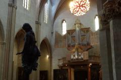 Gotycka kaplica służyła nam za garderobę. Fot. Ancja Łabuszewska