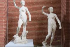 Jest też wiele rzeźb... Fot. Maria Boratyńska
