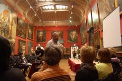 A oto Salon Rouge i jego imponujące romantyczne dzieła,... Fot. Anna Potapowicz