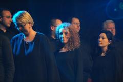 COLLEGIUM MUSICUM UW na scenie Palladium. Foto: Marcin Kluczek