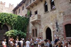 Udaliśmy się także do domu Julii Capuletti.  Foto: Klaudia Kalita