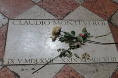 odwiedziliśmy grób Monteverdiego…  Foto: Ancja Łabuszewska