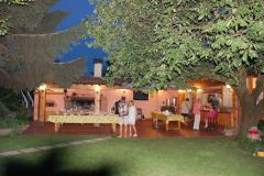 W Weronie nasi gospodarze – Chór La Scatola Armonica – powitali nas wspaniałym garden party.  Foto: Andrzej Borzym