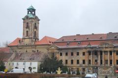 Z zamku Dewinów-Bibersteinów zostały dziś tylko wypalone mury w centrum miasta. Foto: Piotr Węgiełek