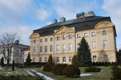 Posiłek podano nam w pięknym pałacu UAM w Ciążeniu... Foto: Piotr Węgiełek